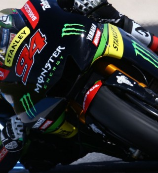 Action shots of Friday's practice of MotoGP at Phillip Island