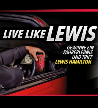 Live like Lewis Hamilton Austrian Promotion. Win a ride and meet and greet with Lewis in Monaco.