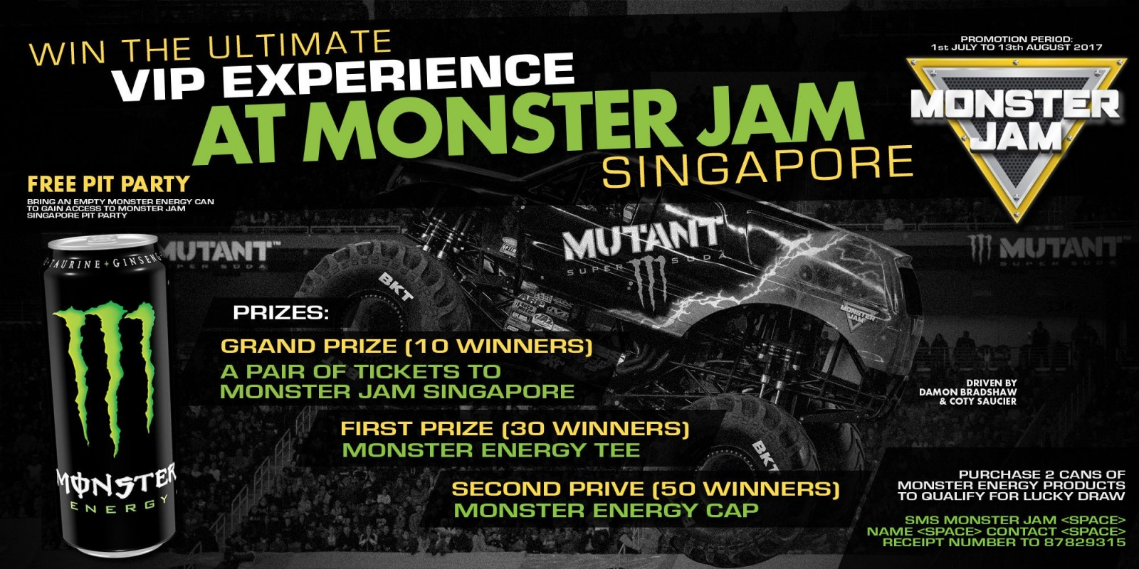 2017 Web Singapore Monster Jam PROMO