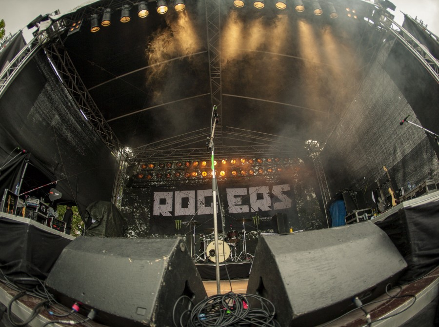 The Rogers at the Vainstream Festival in Münster Germany.