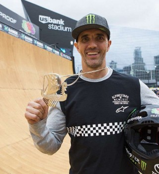 Jamie Bestwick Takes Silver in BMX Vert at X Games Minneapolis 2017
