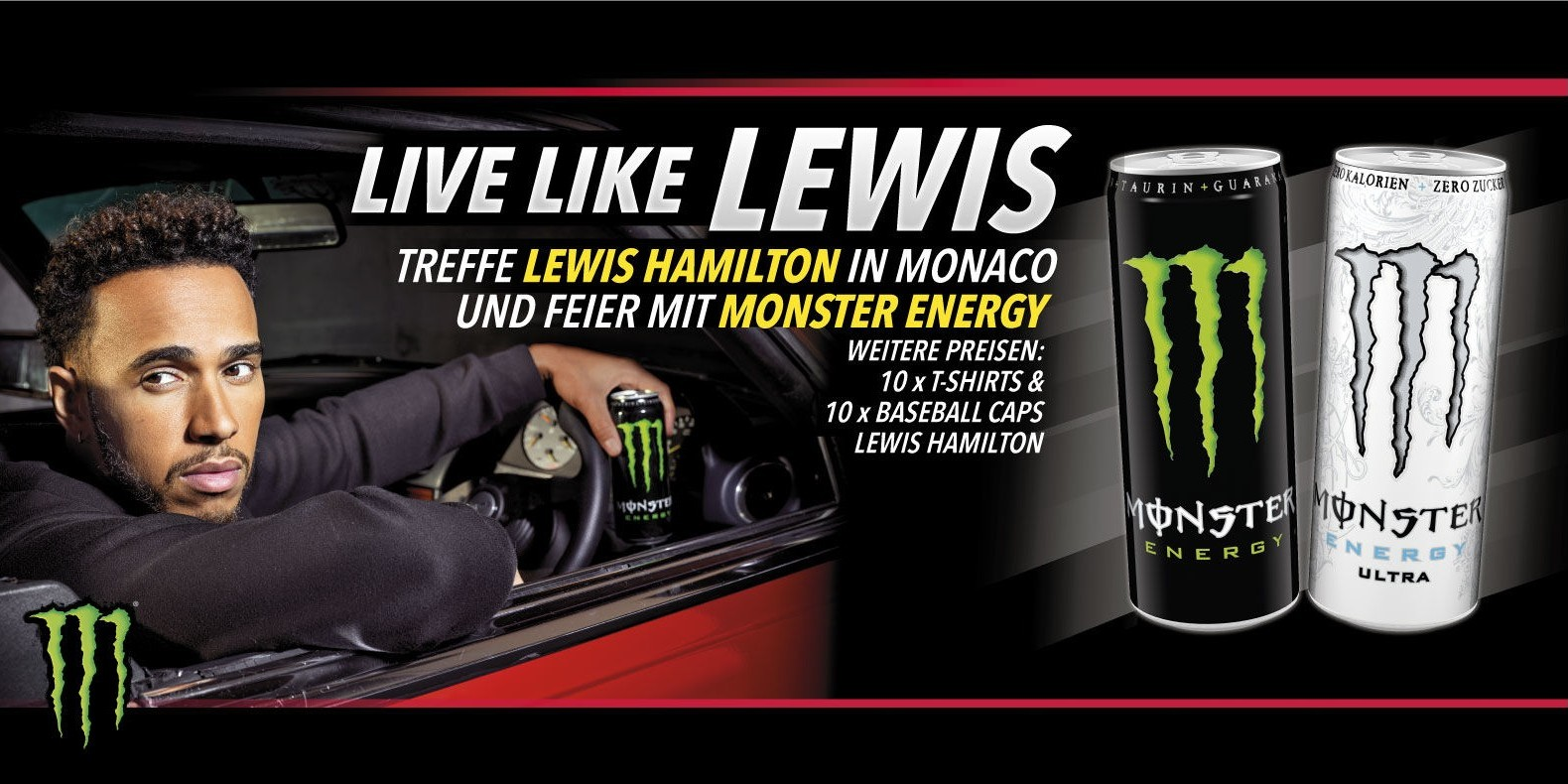 Swiss Promotion: Win a ride with Lewis Hamilton in Monaco