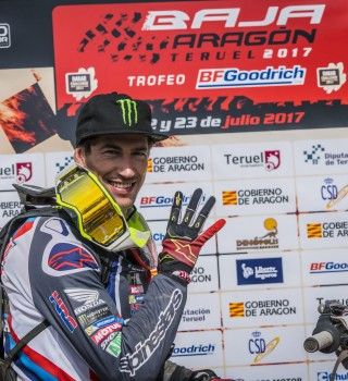 Joan Barreda at the Baja Aragon