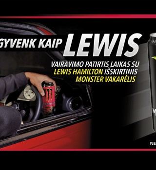 Promo artwork for Live like Lewis