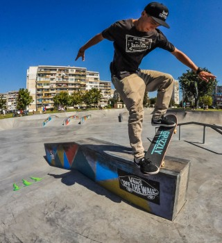 Monster Energy at the 2015 Skate Open in Burgas, Bulgaria