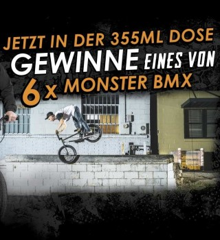 Win a Monster Energy BMX !