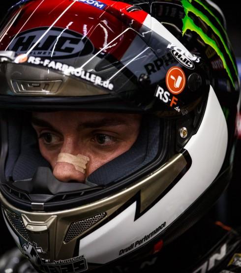 Jonas Folger at the 2017 Grand Prix of Qatar