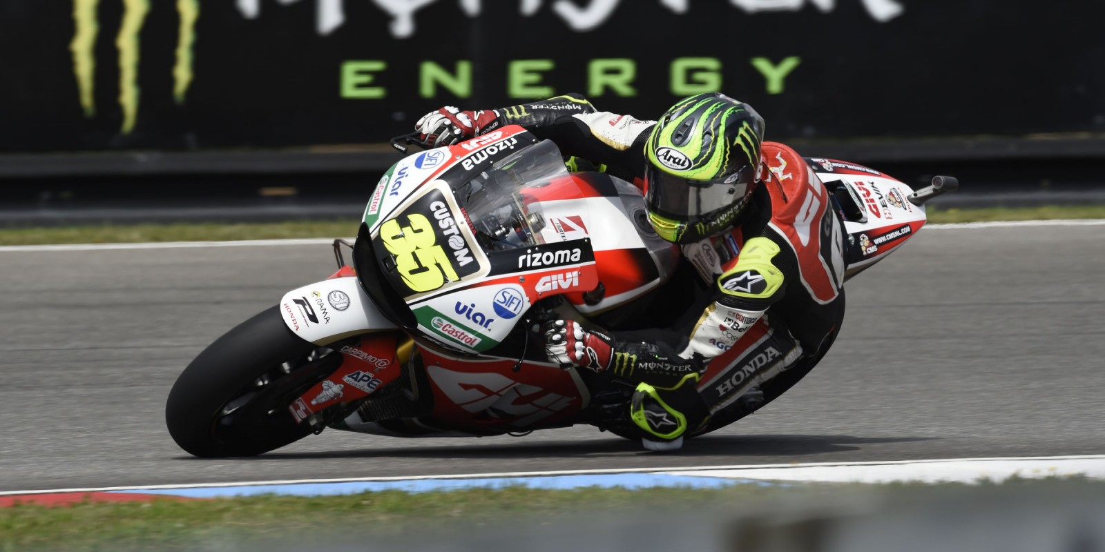 Behind the scenes at the 2017 Grand Prix of Czech Republic Cal Crutchlow at the 2017 Grand Prix of Czech Republic
