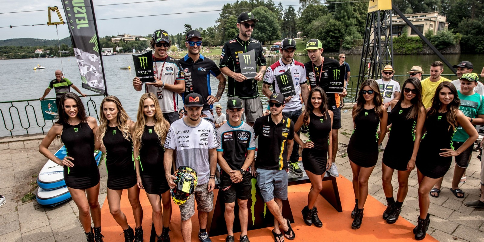 Behind the scenes at the 2017 Grand Prix of Czech Republic