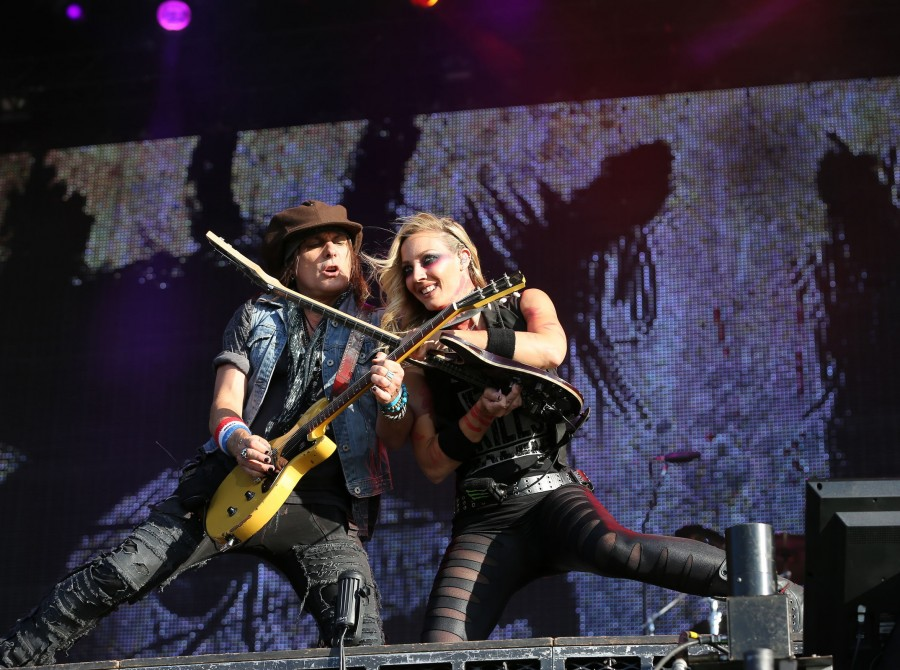 Nita Strauss at Wacken Germany.