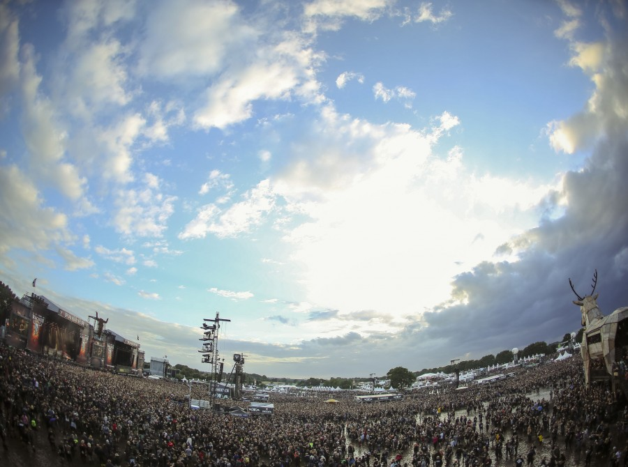 Ambient and crowed imagery from first day at Wacken.