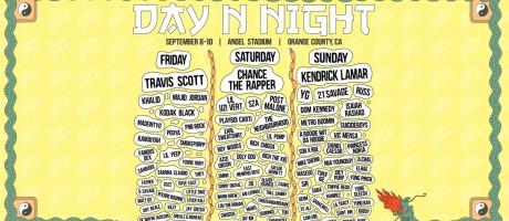 art admats for Day N Night hip hop festival
