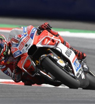 Jorge Lorenzo at the 2017 Grand Prix of Austria