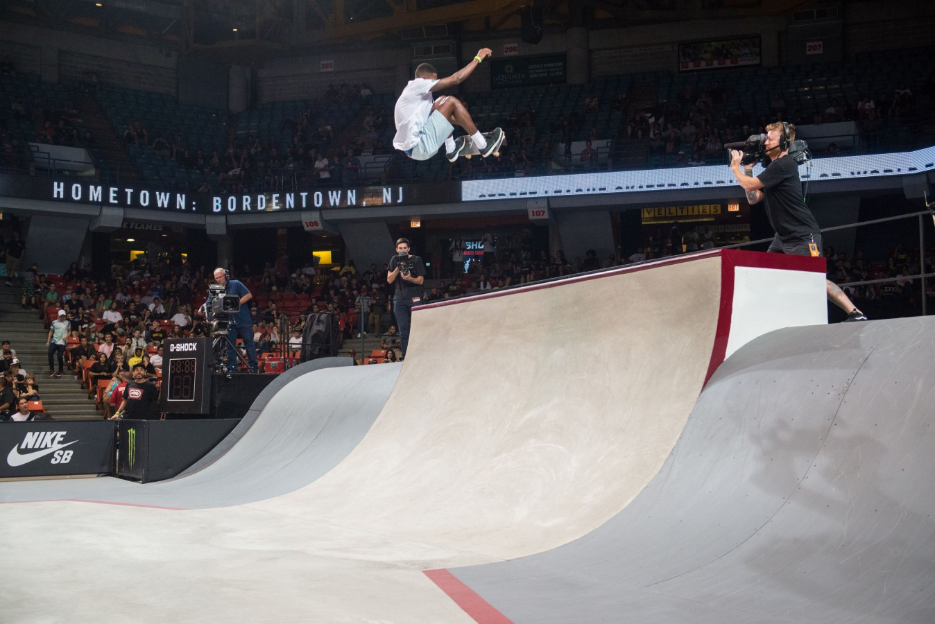 Image from Sunday's 2017 Street League Series in Chicago, IL