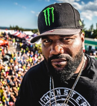 Rampage Jackson at the 2017 Grand Prix of Czech Republic