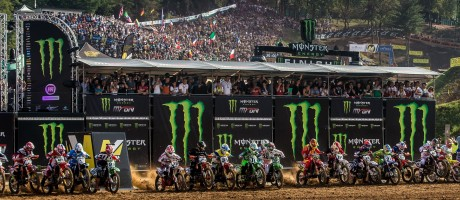 Monster athletes compete at MXON Saturday in Maggiora, Italy