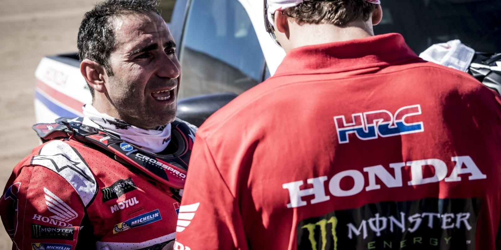 Paolo Goncalves at the 2017 Atacama Rally