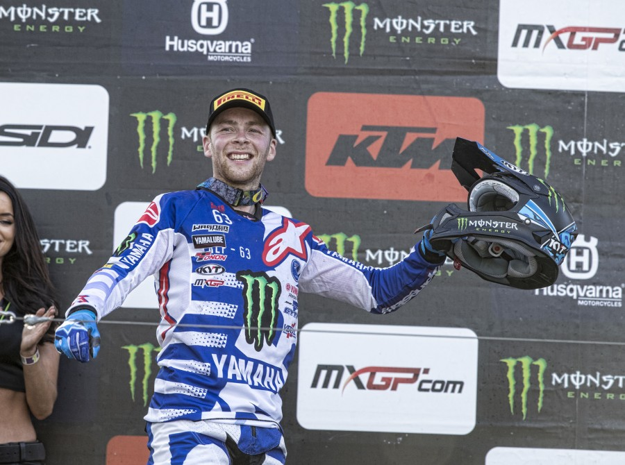 Romain Febvre at the 2017 Grand Prix of Sweden