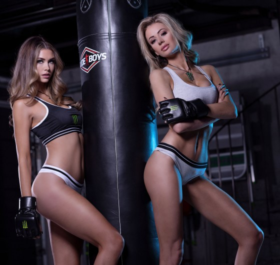 MMA Photoshoot with the Monster Girls in Barcelona