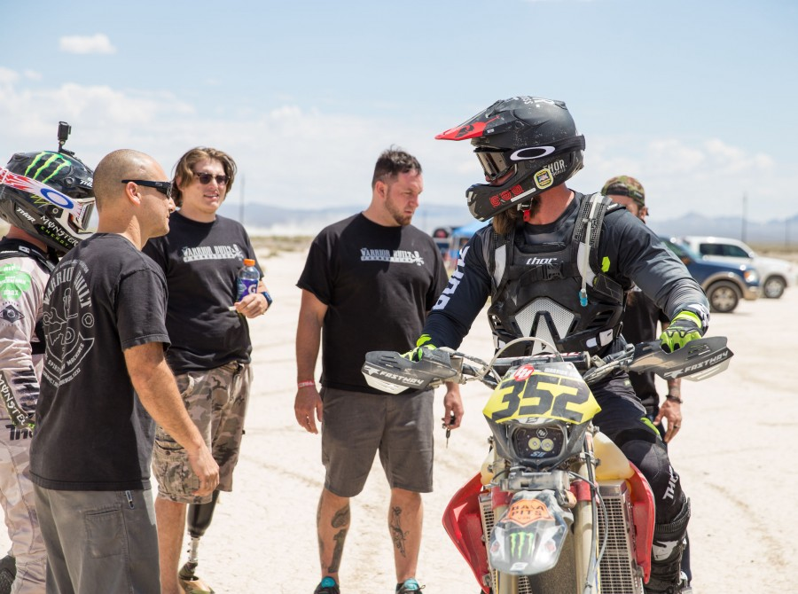 On 18 August 2017, The Warrior Built Foundation raced Vegas2Reno with its combat veterans.