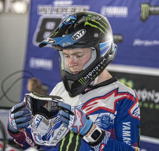 Romain Febvre at the 2017 Grand Prix of Mexico