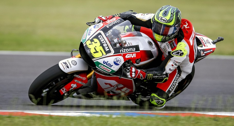 Cal Crutchlow at the 2017 Grand Prix of Argentina