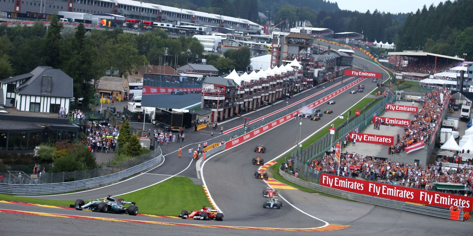 Qualifying and Race images from the 2017 Belgian Grand Prix