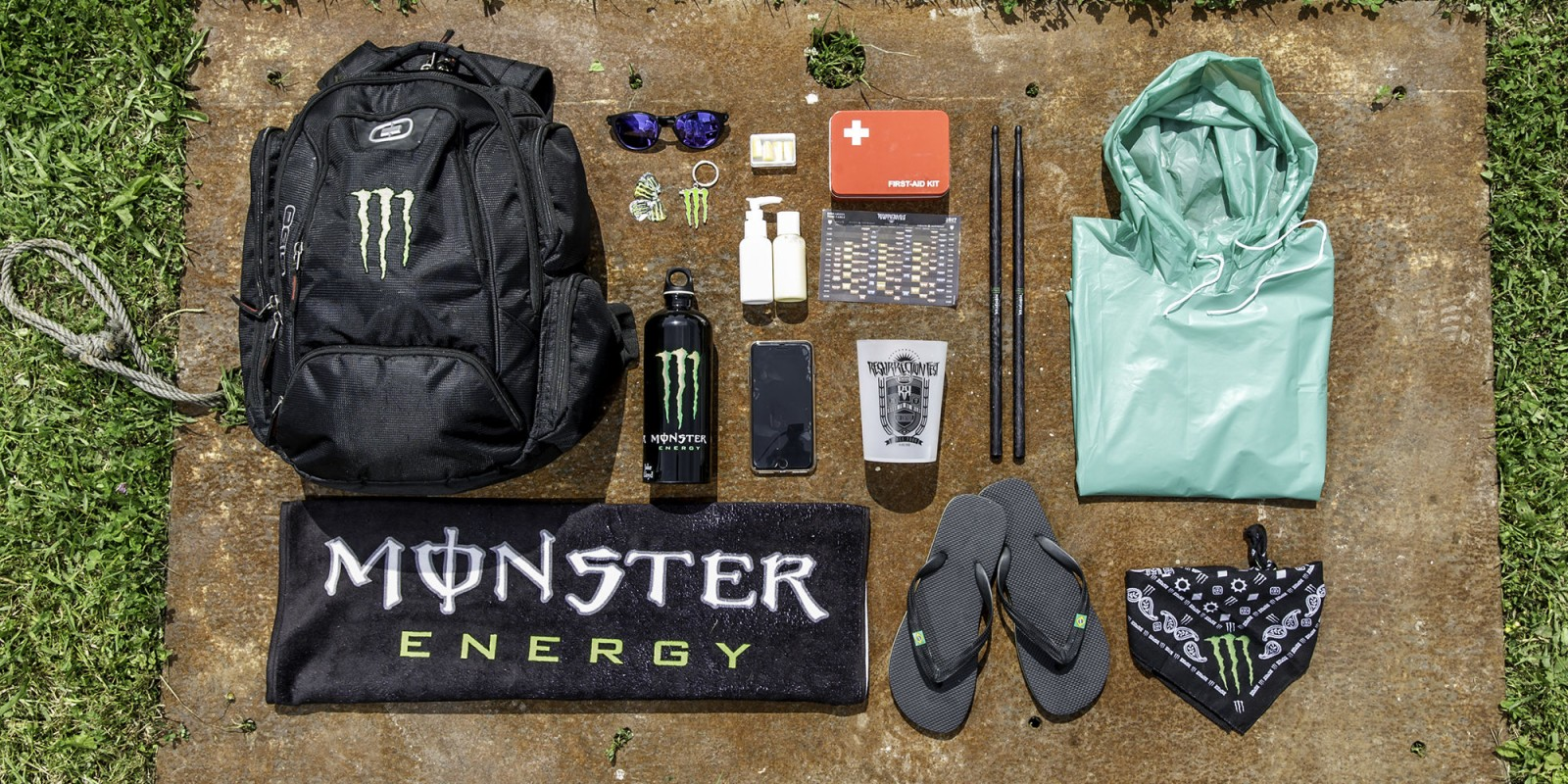Survival kit for Resurrection Fest
