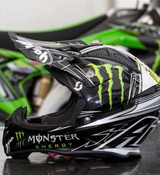 Clement Desalle 2017 helmet shots
