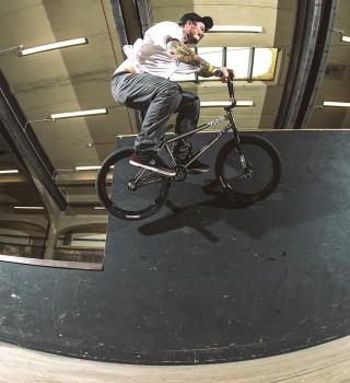 Ben Lewis wall ride at BoH 2017
