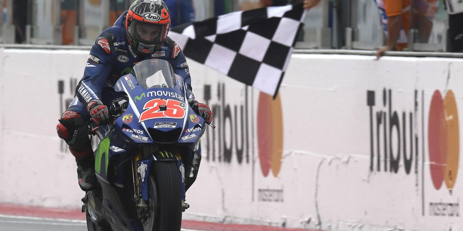 Maverick Viñales at the 2017 GP S.Marino e Riviera di Rimini