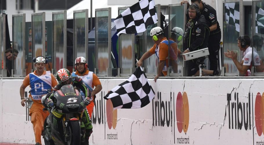 Johann Zarco at the 2017 GP S.Marino e Riviera di Rimini