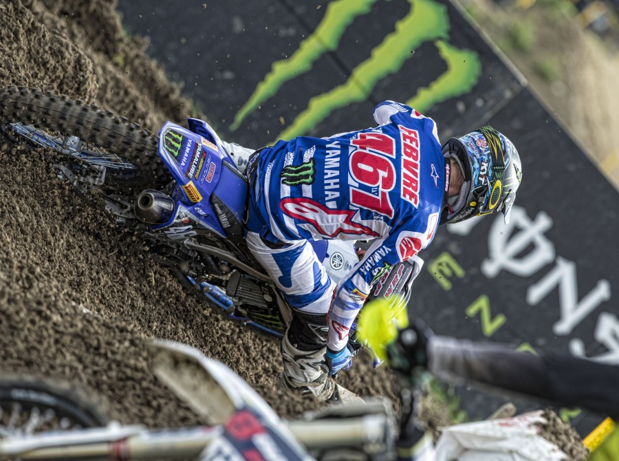 Romain Febvre at the 2017 Grand Prix of Switzerland