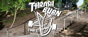 2017 Skate Thrasher Burn Hero Image