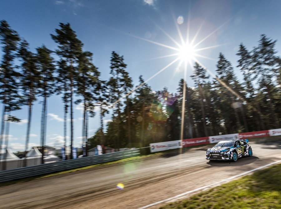 Saturday images from the 2017 World RX of Latvia