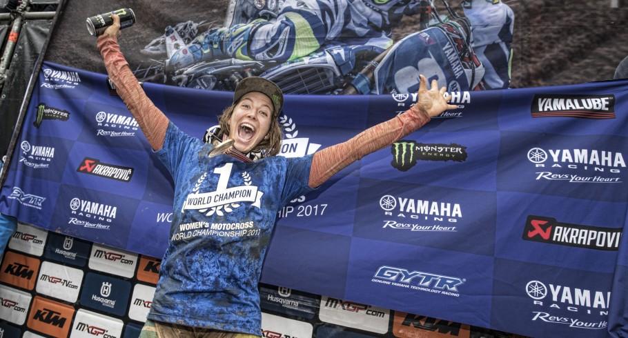 Kiara Fontanesi at the 2017 Grand Prix of Pays de Montbeliard