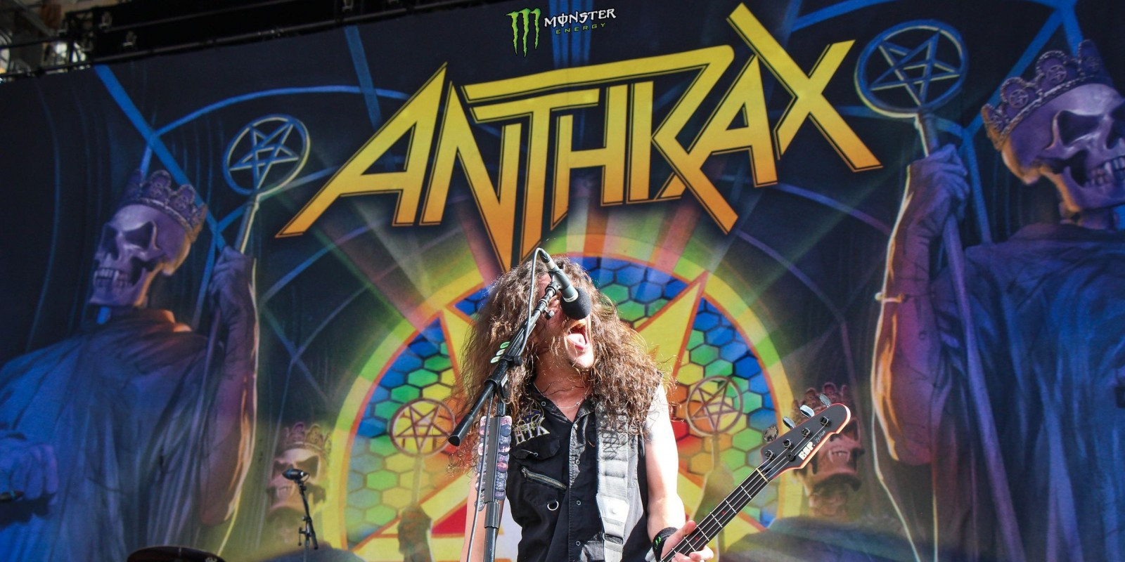 Frank Bello Anthrax hero image