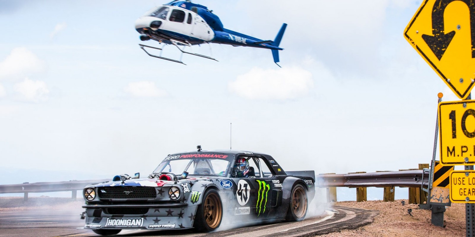 2017 images from Ken Block's Climbkhana