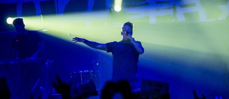 Pictures from Papa Roach perforamnce in Saint-Petersburg,Russia