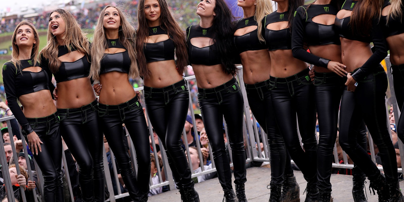 Monster Girls at Motocross of Nations United Kingdom