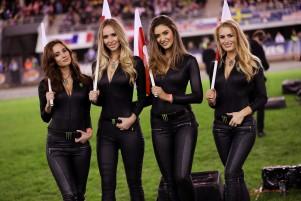 Monster Girls at the final of Speedway Torun Poland