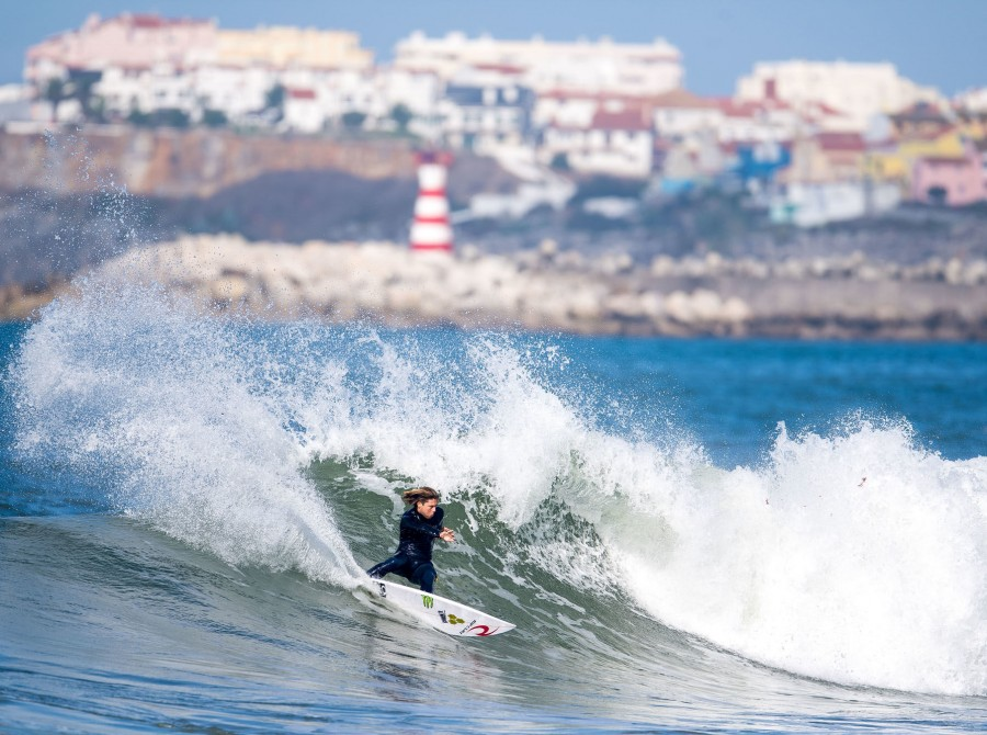 The penultimate stop of the WSL Championship Tour is the final countdown. It's the bottom of the eighth inning, five minutes left in the fourth quarter, mile-24 of a marathon. Because when the top-32 arrives in Peniche, Portugal, there are only two more o