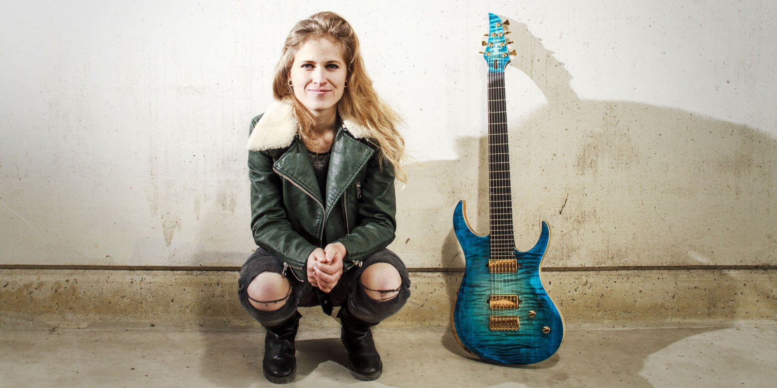 Portraits of Merel Bechtold to go along with her introduction as music ambassador for the Netherlands