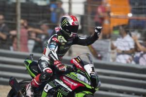 Jonathan Rea at the 2017 World Superbike Spanish round