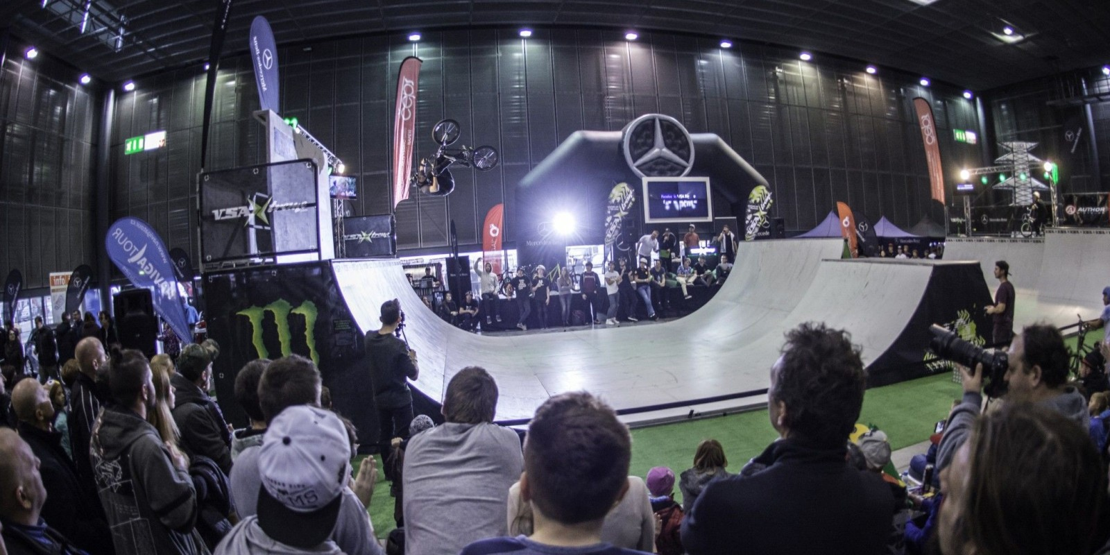 Grand BMX 2016 is a BMX ramp competition taking place in Brno, Czech Republic.