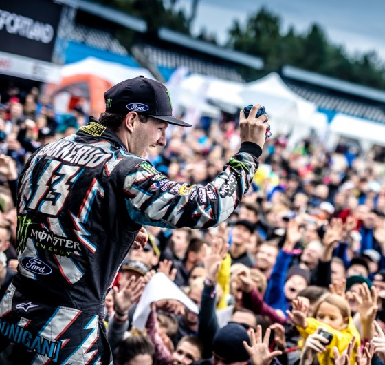 Sunday images from the 2017 World RX of Latvia