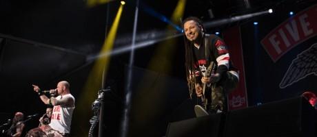 Five Finger Death Punch at Aftershock Festival 2017 in Sacramento, CA