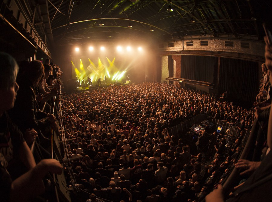 Eskimo Callboy during their concert in Cologne.