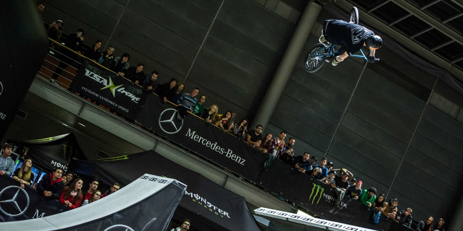 MERCEDES-BENZGRANDBMX2017Czech BMX park championship in Brno