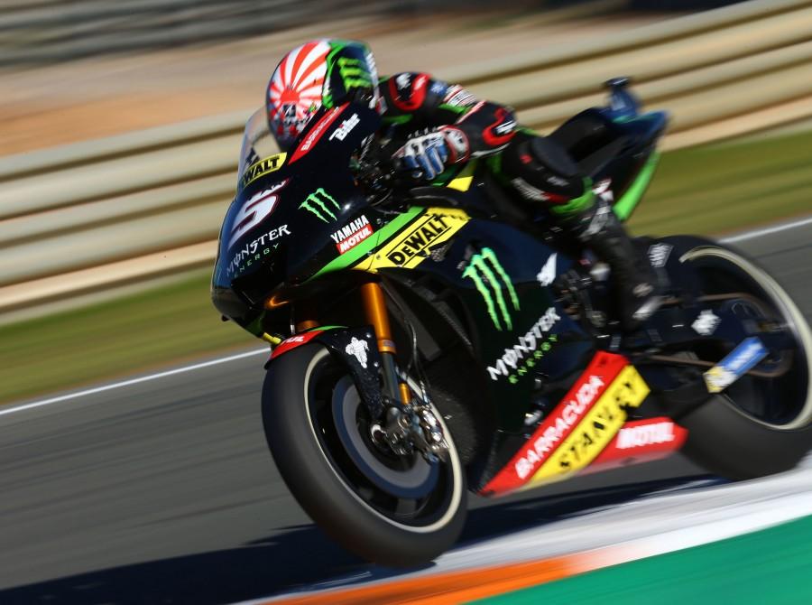 Action shots form MotoGp Valencia, Spain